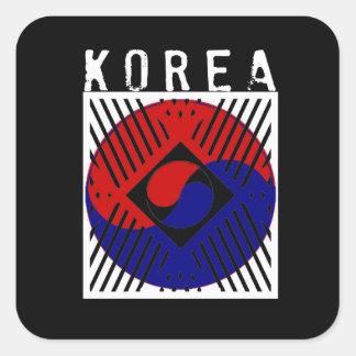 IV - Korea Square Sticker
