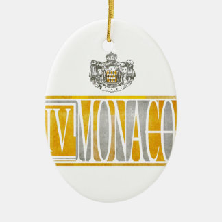 IV  MONACO CERAMIC ORNAMENT