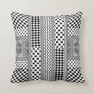 IV - Palestine Kaffiyeh Pillow