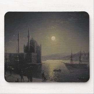 Ivan Aivazovsky- Moonlit Night on the Bosphorus Mousepad
