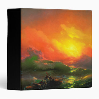 IVAN AIVAZOVSKY - The ninth wave 1850 3 Ring Binders