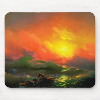 IVAN AIVAZOVSKY - The ninth wave 1850 Mouse Pad
