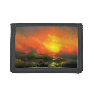 IVAN AIVAZOVSKY - The ninth wave 1850 Tri-fold Wallet
