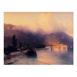 Ivan Aivazovsky- View of Yalta Postcard