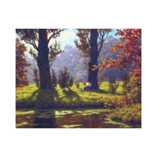 Ivan Fedorovich Choultsé A Sunny Afternoon Canvas Print