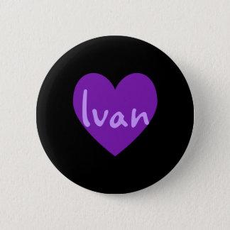 Ivan in Purple 2 Inch Round Button