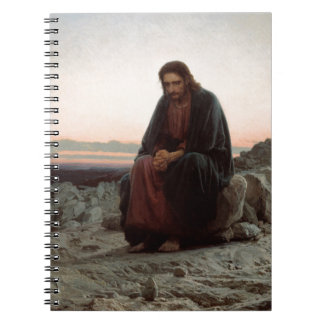 Ivan Kramskoy- Christ in the Wilderness- Fine Art Notebooks