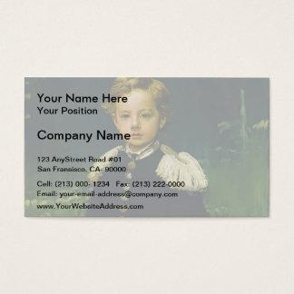 Ivan Kramskoy- Portrait of Sergei Kramskoy Business Card