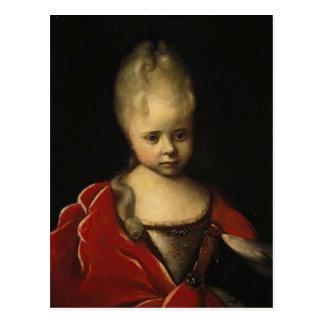 Ivan Nikitin- Portrait of Elizaveta Petrovna Postcard