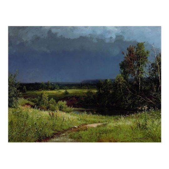 Ivan Shishkin- Gathering Storm Postcard