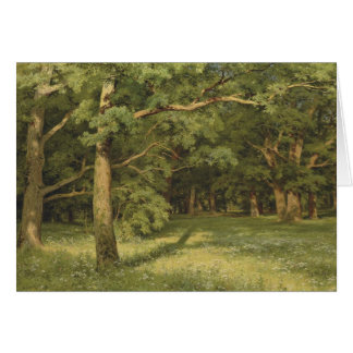 Ivan Shiskin The Forest Clearing CC0451 Card