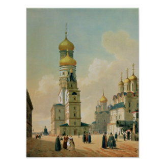 Ivan the Great Bell Tower in the Moscow Poster