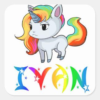 Ivan Unicorn Sticker