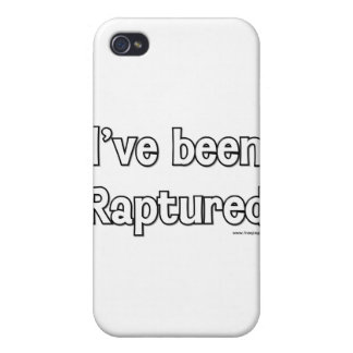 I've Been Raptured Cover For iPhone 4