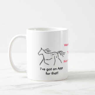 I've got an App for that!  Appaloosa Coffee Mug