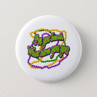 I've got beads 2 inch round button