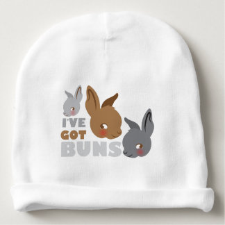 ive got buns (cute bunny rabbits) baby beanie