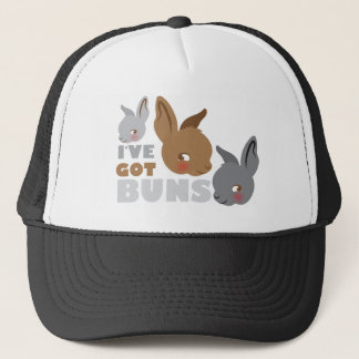 ive got buns (cute bunny rabbits) trucker hat