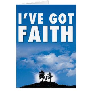 I've got Faith Card