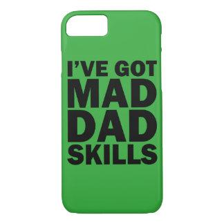 I've Got Mad Dad Skills funny phone case