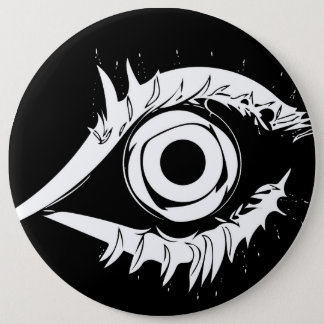 I've got my eye on you #1 6 inch round button