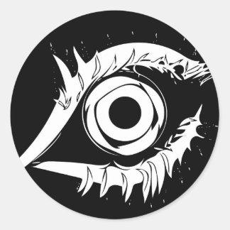 I've got my eye on you #1 classic round sticker