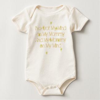 I've Got My Mind on My Mommy Baby Bodysuit