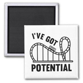 I've Got Potential Square Magnet
