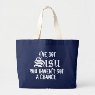 I've Got Sisu Dark 1 Jumbo Tote Bag
