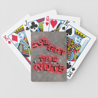 ive got the nuts bicycle playing cards