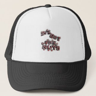 ive got the nuts patch trucker hat