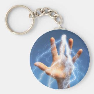 I've Got The Power! Basic Round Button Keychain