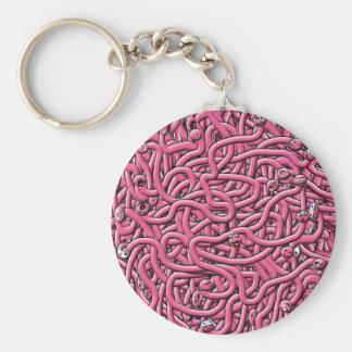 iv'e got worms keychain