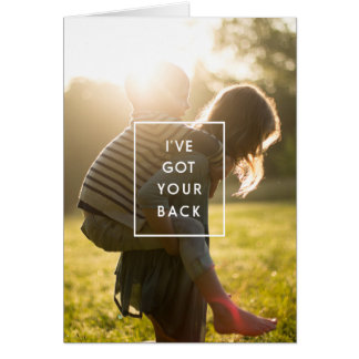 I've got your back mom card
