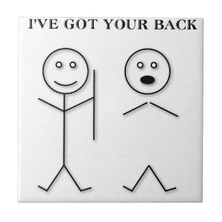 I've got your back tile