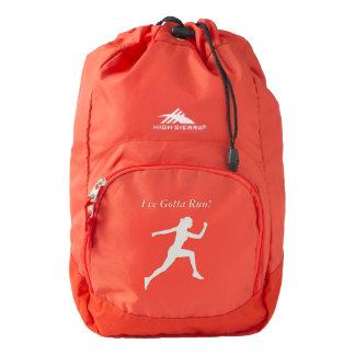I've Gotta Run Backpack