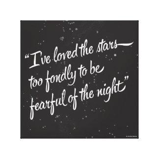 I've Loved The Stars Canvas Print