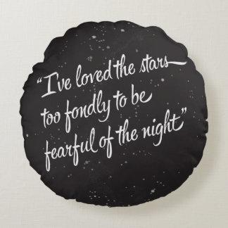 I've Loved The Stars Round Pillow