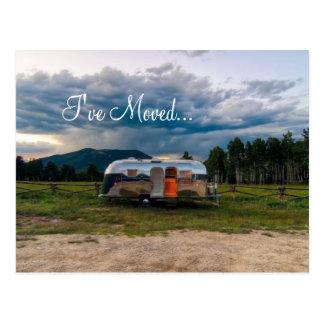 I've moved... postcard
