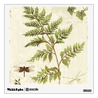 Ivies and Ferns Wall Decal