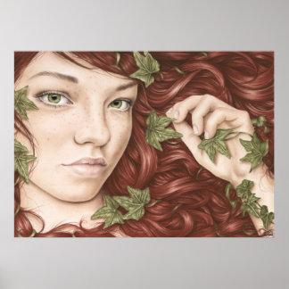 Ivies Girl Poster
