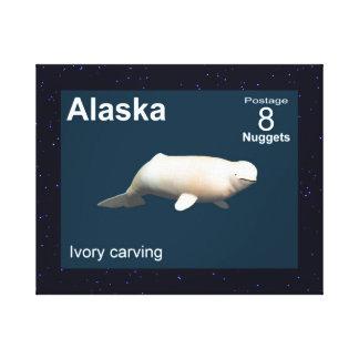 Ivory Beluga Canvas Print