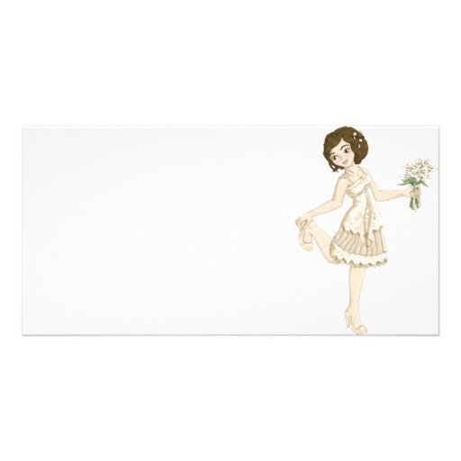 Ivory Bride Photo Cards
