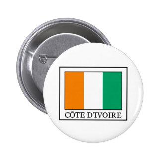 Ivory Coast 2 Inch Round Button