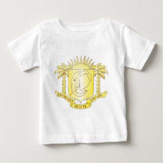 Ivory Coast Coat Of Arms Baby T-Shirt