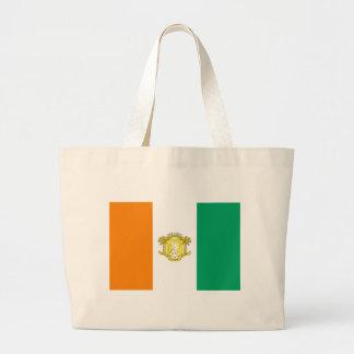 Ivory Coast - Côte d'Ivoire Large Tote Bag