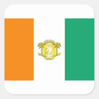 Ivory Coast - Côte d'Ivoire Square Sticker