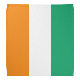 Ivory Coast Flag Bandana