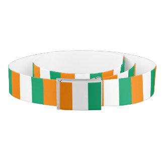 Ivory Coast Flag Belt