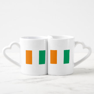 Ivory Coast Flag Coffee Mug Set